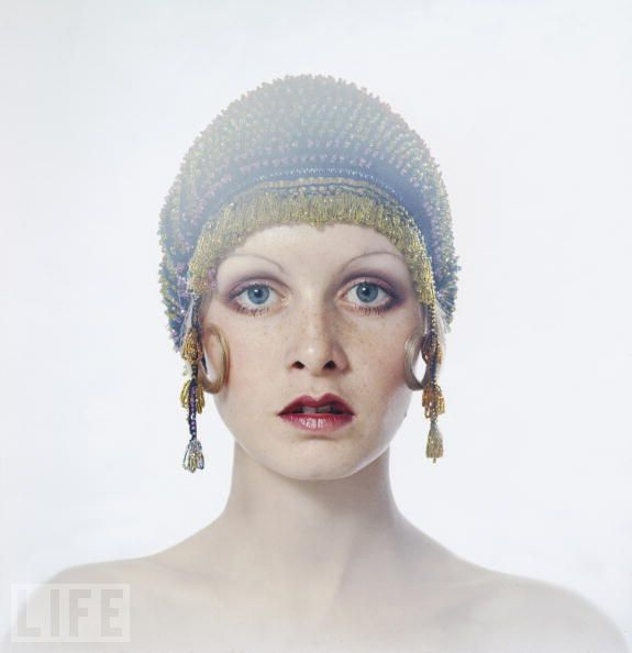 Twiggy, 1971. Picture by Justin de Villeneuve/Hulton Archive/Getty Images